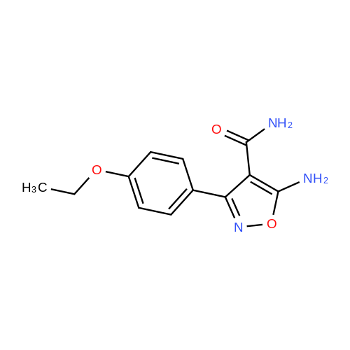 5-Amino-3-(4-ethoxyphenyl)isoxazole-4-carboxamide