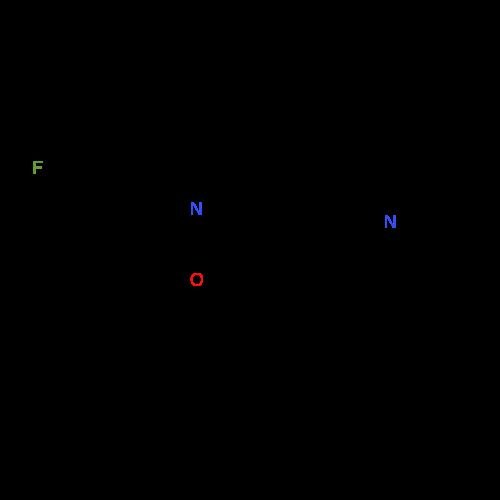 2-(3-Fluorophenyl)-5-((3-methylpiperidin-1-yl)methyl)benzo[d]oxazole