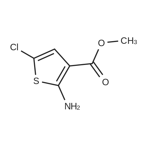Methyl 2-amino-5-chlorothiophene-3-carboxylate