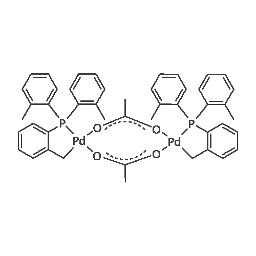 trans-Di-μ-acetatobis[2-[bis(2-methylphenyl)phosphino]benzyl]dipalladium