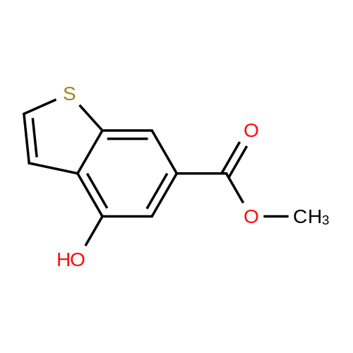 Methyl 4-Hydroxy-1-benzothiophene-6-carboxylate
