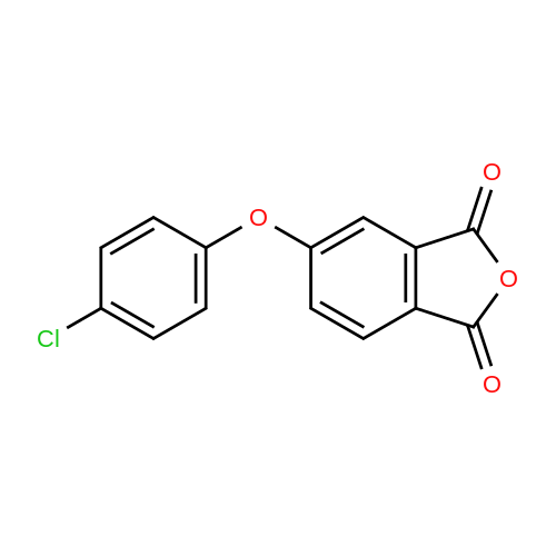 5-(4-Chlorophenoxy)isobenzofuran-1,3-dione