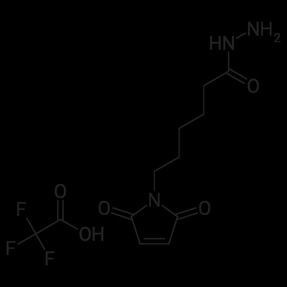 6-(2,5-Dioxo-2,5-dihydro-1H-pyrrol-1-yl)hexanehydrazide 2,2,2-trifluoroacetate