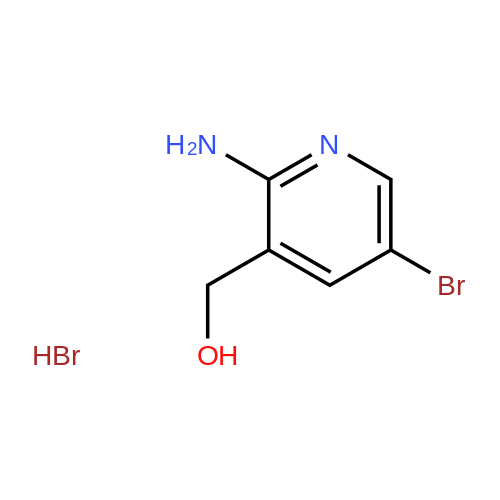 2-Amino-5-bromo-3-(hydroxymethyl)pyridine hydrobromide