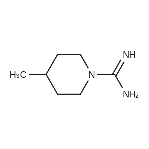 4-Methylpiperidine-1-carboximidamide