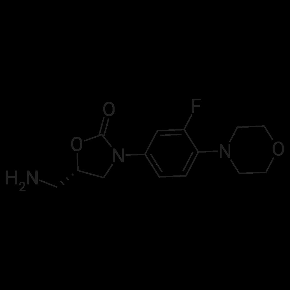 (S)-5-(Aminomethyl)-3-(3-fluoro-4-morpholinophenyl)oxazolidin-2-one