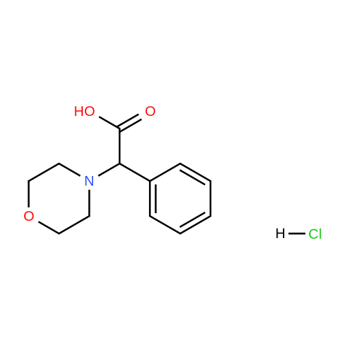 2-Morpholino-2-phenylacetic acid hydrochloride