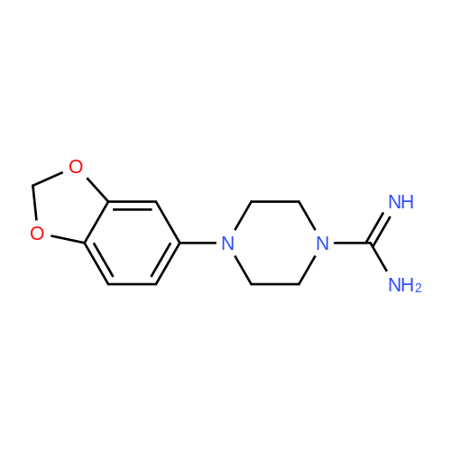 4-(Benzo[d][1,3]dioxol-5-yl)piperazine-1-carboximidamide