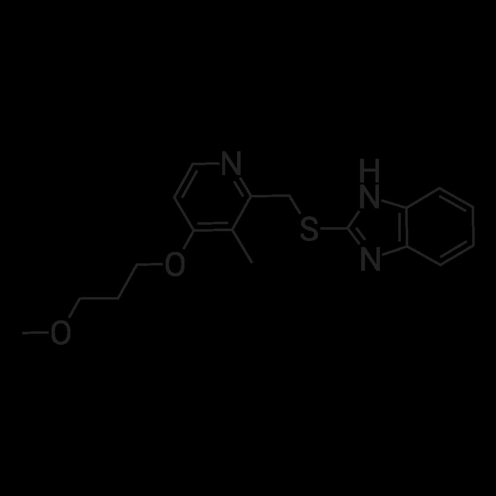 2-[[[4-(3-Methoxypropoxy)-3-methylpyridine-2-yl ]methyl]thio]-1H-benzimidazole