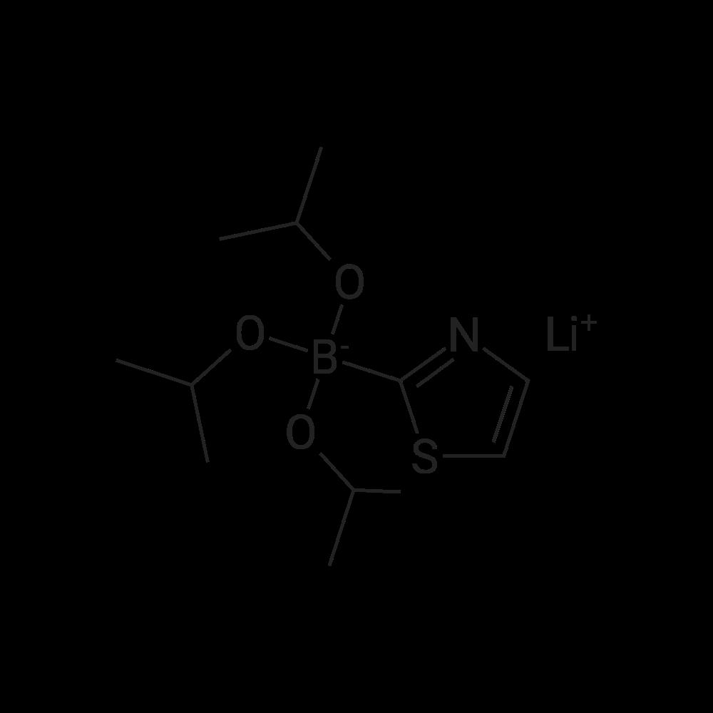 Lithium triisopropoxy(thiazol-2-yl)borate