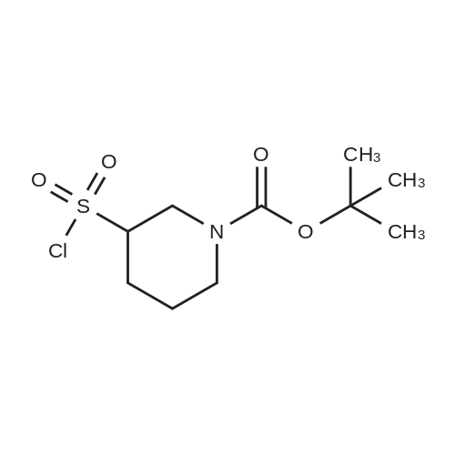 tert-Butyl 3-(chlorosulfonyl)piperidine-1-carboxylate