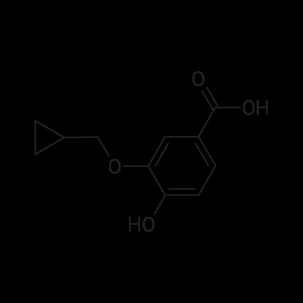 3-(Cyclopropylmethoxy)-4-hydroxybenzoic acid
