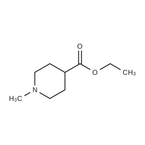 Ethyl 1-methylpiperidine-4-carboxylate