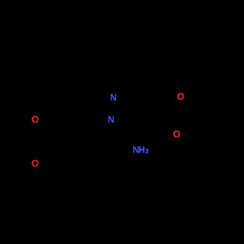 Ethyl 5-amino-1-(2,3-dihydrobenzo[b][1,4]dioxin-6-yl)-1H-pyrazole-4-carboxylate