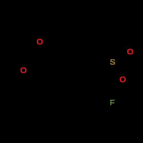 2-[4-Fluoro-3-(methylsulfonyl)phenyl]-1,3-dioxolane