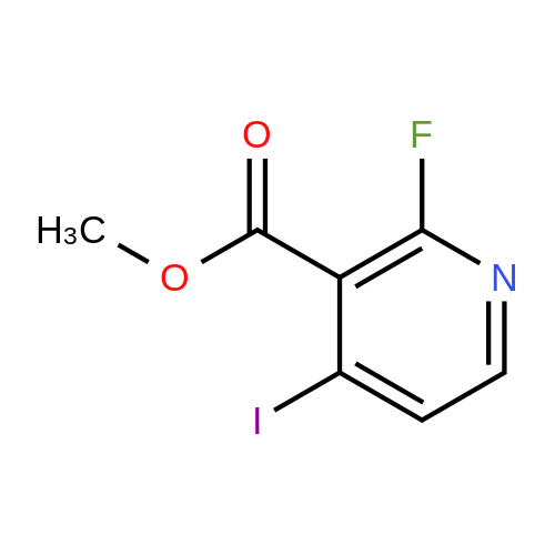 Methyl 2-fluoro-4-iodonicotinate