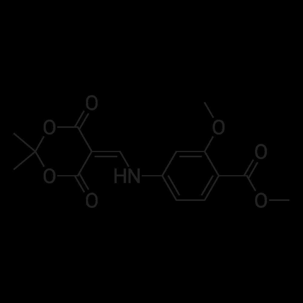 Methyl 4-(((2,2-dimethyl-4,6-dioxo-1,3-dioxan-5-ylidene)methyl)amino)-2-methoxybenzoate
