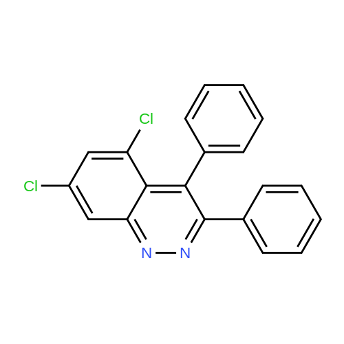 5,7-Dichloro-3,4-diphenylcinnoline