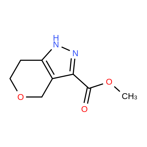 Methyl 1,4,6,7-tetrahydropyrano[4,3-c]pyrazole-3-carboxylate