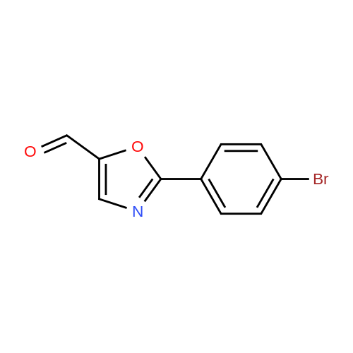 2-(4-Bromophenyl)oxazole-5-carbaldehyde