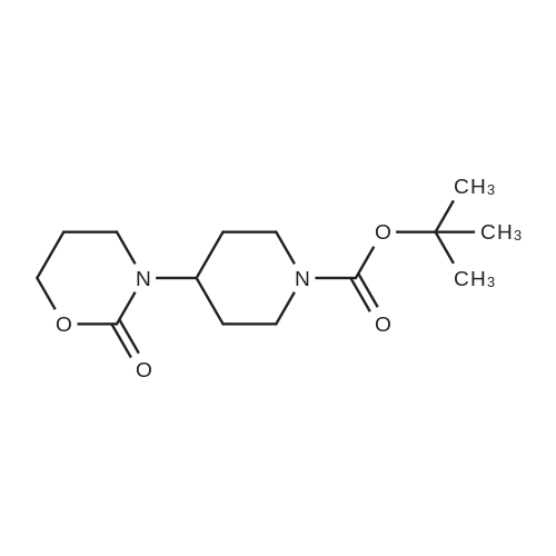 tert-Butyl 4-(2-oxo-1,3-oxazinan-3-yl)piperidine-1-carboxylate
