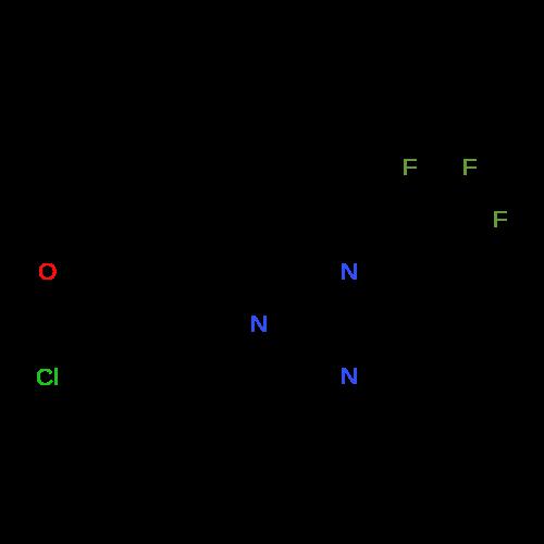 1-(4-(Trifluoromethyl)pyrimidin-2-yl)piperidine-4-carbonyl chloride