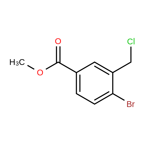 Methyl 4-bromo-3-(chloromethyl)benzoate