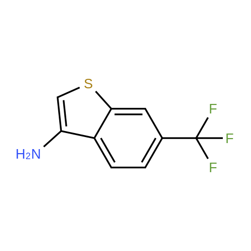 6-(Trifluoromethyl)benzo[b]thiophen-3-amine