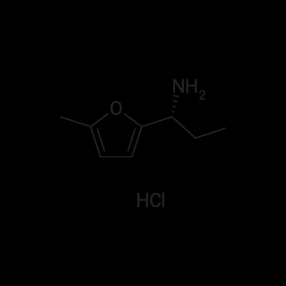 (R)-1-(5-Methylfuran-2-yl)propan-1-amine hydrochloride