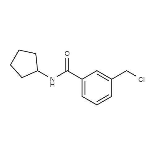3-(Chloromethyl)-N-cyclopentylbenzamide
