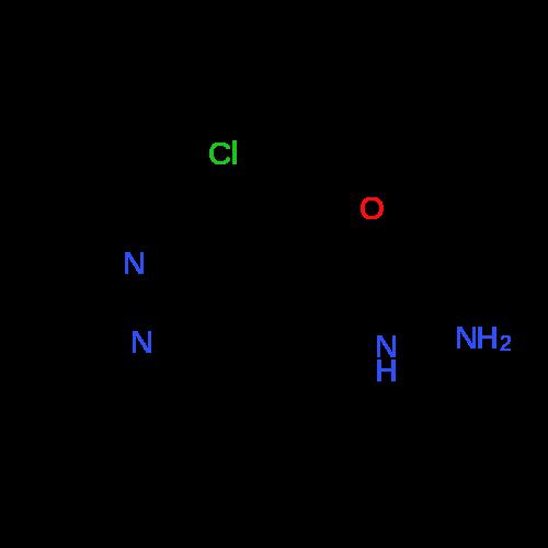 3-Chloro-1-methyl-1H-pyrazole-4-carbohydrazide