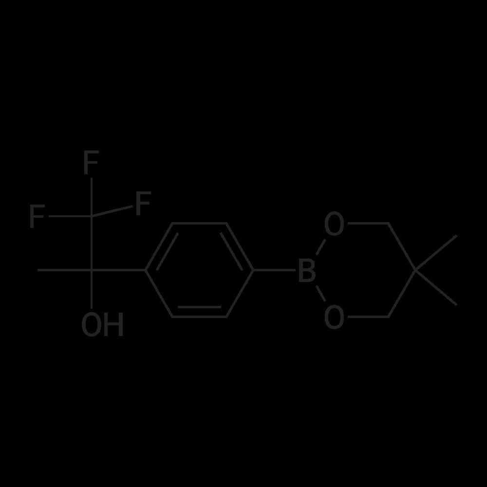 2-(4-(5,5-Dimethyl-1,3,2-dioxaborinan-2-yl)phenyl)-1,1,1-trifluoropropan-2-ol