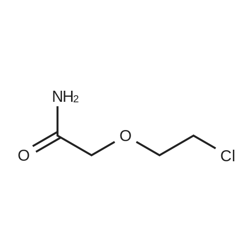 2-(2-Chloroethoxy)acetamide