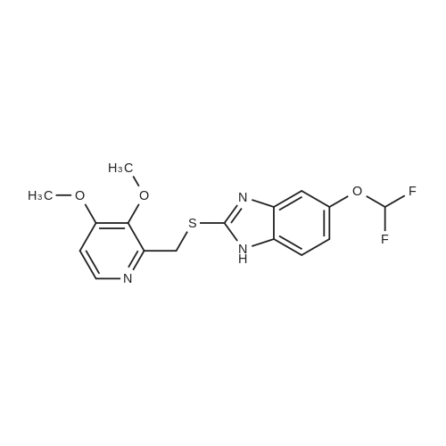 5-(Difluoromethoxy)-2-(((3,4-dimethoxypyridin-2-yl)methyl)thio)-1H-benzo[d]imidazole