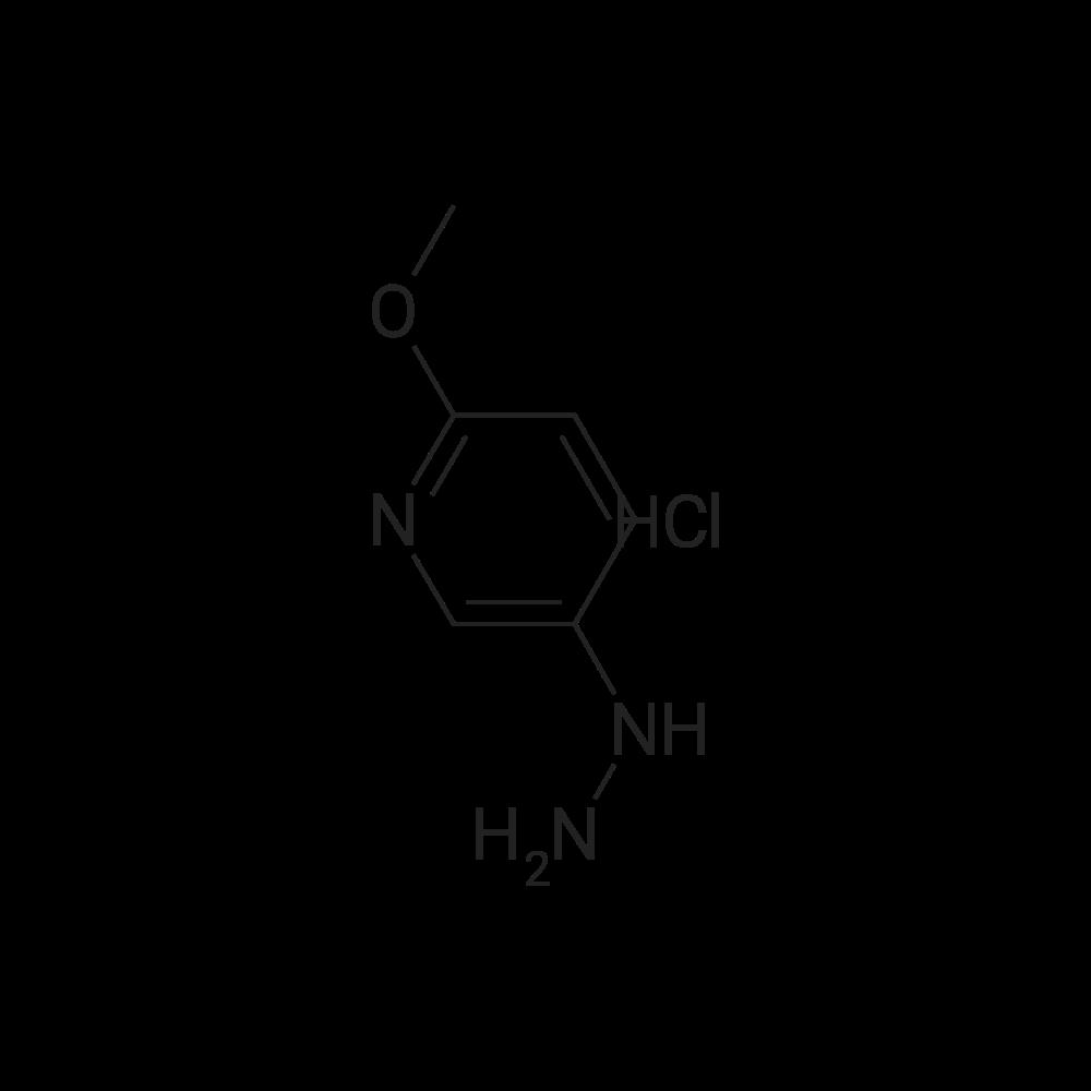 5-Hydrazinyl-2-methoxypyridine hydrochloride