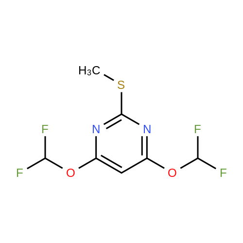 4,6-Bis(difluoromethoxy)-2-(methylthio)pyrimidine