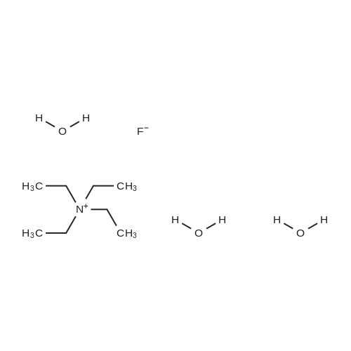 Tetraethylammonium fluoride trihydrate