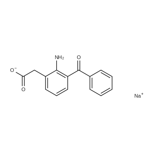 Sodium 2-(2-amino-3-benzoylphenyl)acetate