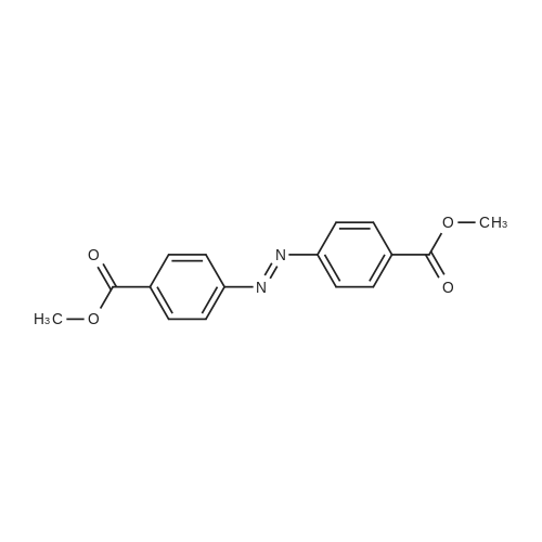 Dimethyl 4,4'-(diazene-1,2-diyl)dibenzoate