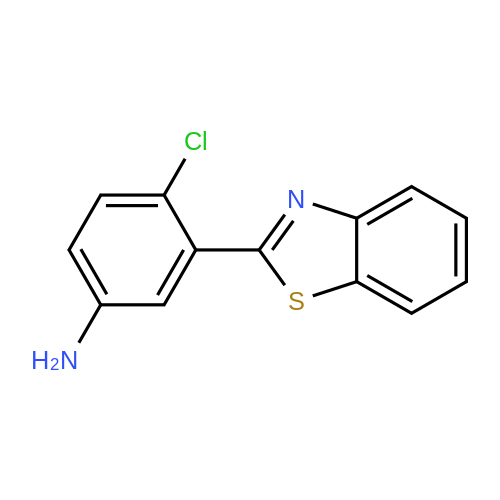 3-(Benzo[d]thiazol-2-yl)-4-chloroaniline