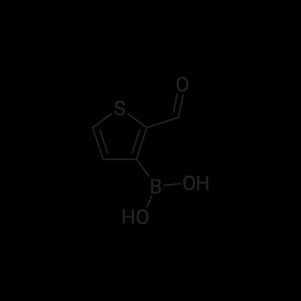 (2-Formylthiophen-3-yl)boronic acid