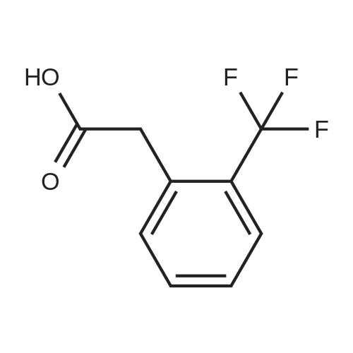 2-(Trifluoromethyl)phenylacetic acid
