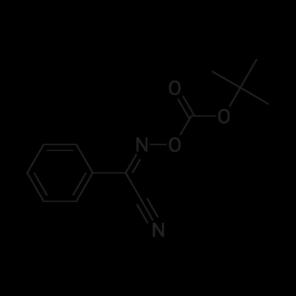 N-((tert-Butoxycarbonyl)oxy)benzimidoyl cyanide