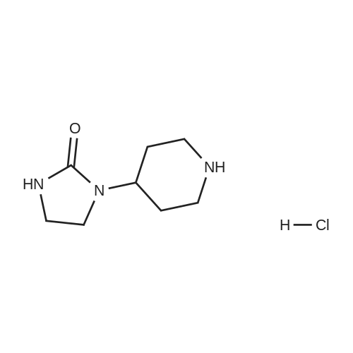 1-(Piperidin-4-yl)imidazolidin-2-one hydrochloride