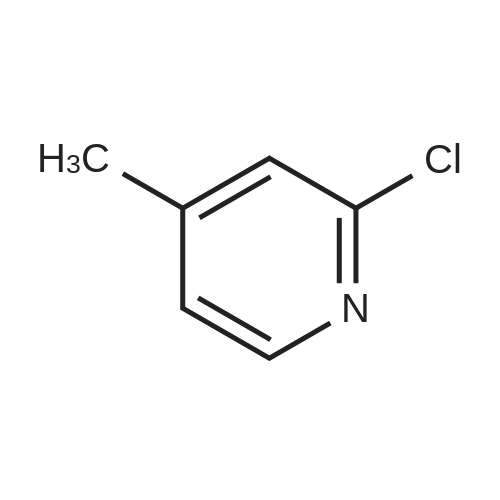2-Chloro-4-methylpyridine