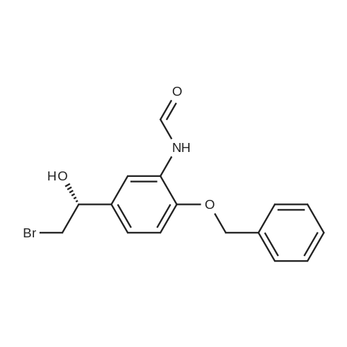 (R)-N-[5-(2-Bromo-1-hydroxyethyl)-2-(phenylmethoxy)phenyl]formamide