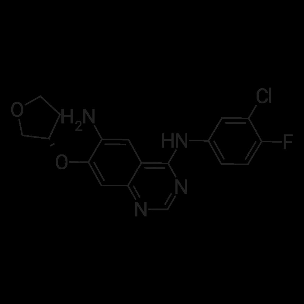 (S)-N4-(3-Chloro-4-fluorophenyl)-7-((tetrahydrofuran-3-yl)oxy)quinazoline-4,6-diamine
