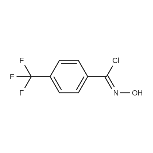 N-Hydroxy-4-(trifluoromethyl)benzimidoyl chloride