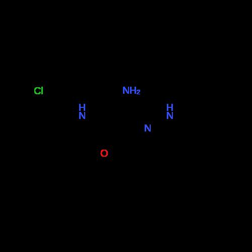 2-Amino-N-(2-chlorophenyl)-2-(2-phenylhydrazono)acetamide