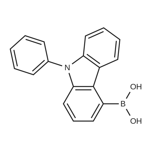 (9-Phenyl-9H-carbazol-4-yl)boronic acid